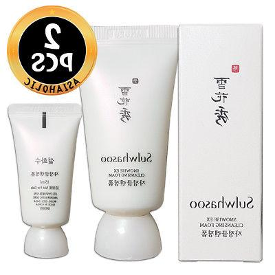 Sulwhasoo Snowise EX Cleansing Foam 15ml x 2pcs  Sample EX 2