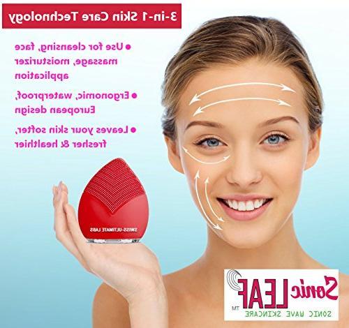 Swiss-Ultimate Labs 3-in-1 Facial for Healthy Invigorating Massage, w/Bonus Herbal Sample
