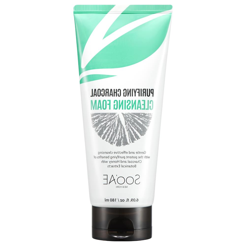 soo ae purifying charcoal cleansing foam unisex