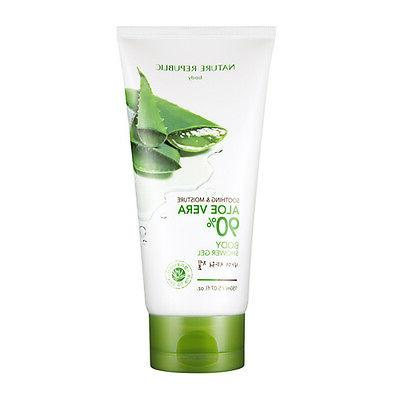 soothing and moisture aloe vera 90 percent