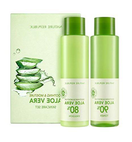 soothing moisture aloe vera skin