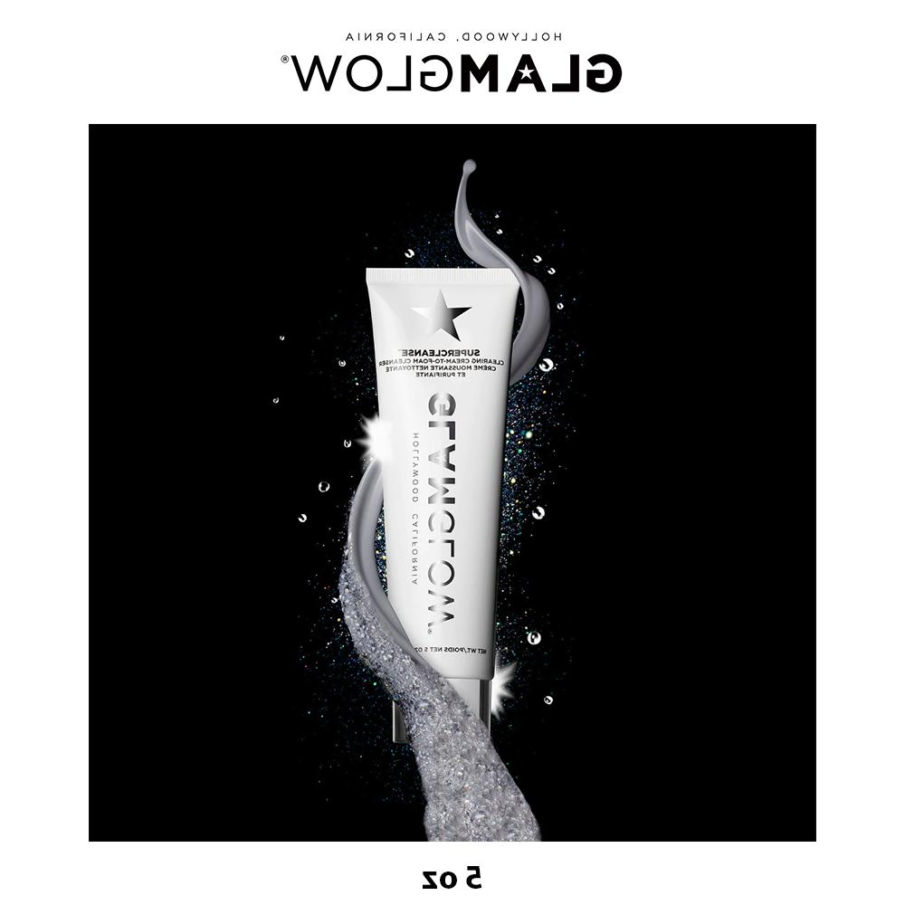 GLAMGLOW SUPERCLEANSE Cream-to-Foam Cleanser Face Wash