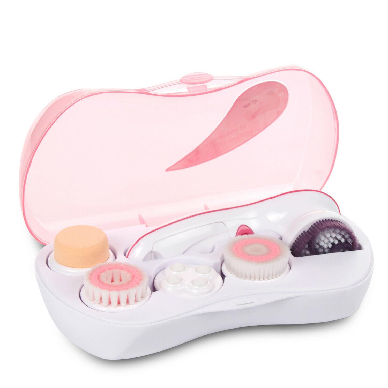 sycee waterproof facial cleansing spin brush set