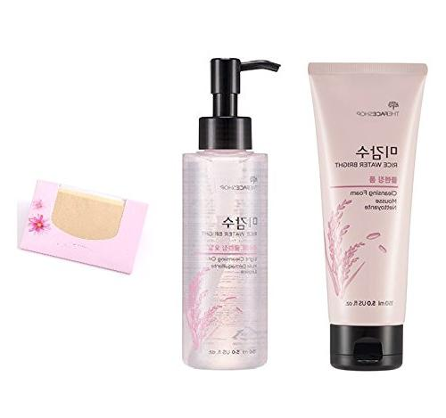 the face shop rice water bright set