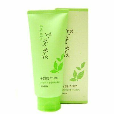 the first green tea natural facial cleansing