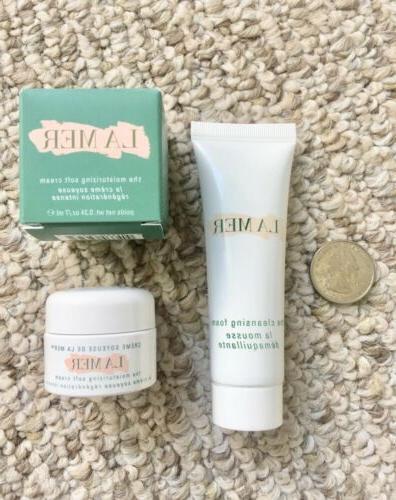 La The Soft Cream Cleansing Foam Set
