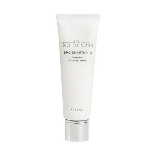 time revolution brightening care whipping foam cleanser
