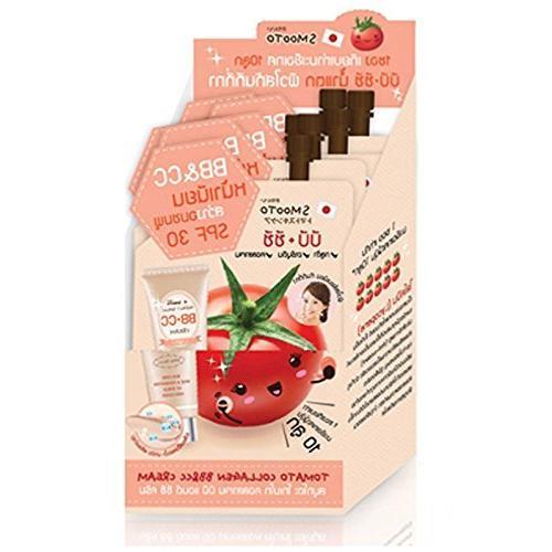 tomato collagen bb cc face