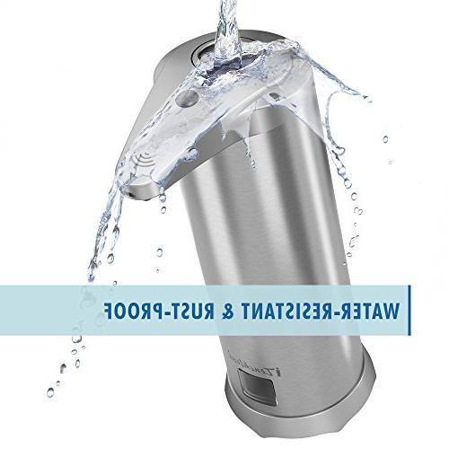 iTouchless Sensor Foam Soap Rust-Free Stainless Foaming Hand Wash Touchless Bathroom & Kitchen