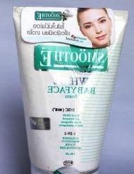 Smooth E 4-in-1 White Babyface Foam Reduce Acne Fine Line Wh