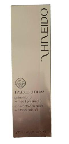 WHITE LUCENT Brightening Cleansing Foam 4.7 oz. 125ml Made