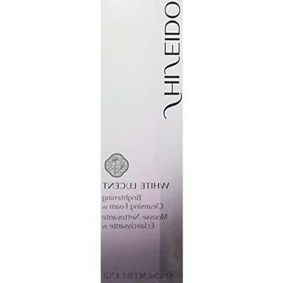 Shiseido White Lucent Cleansing Foam 4.7 Oz