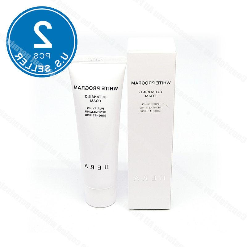 HERA White Program Cleansing Foam 50ml x 2pcs  Remover Amore