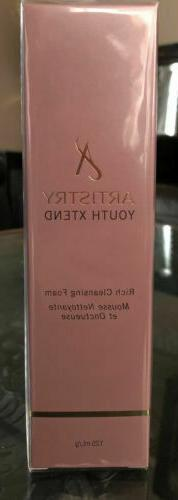 artistry youth xtend rich cleansing foam 113801V