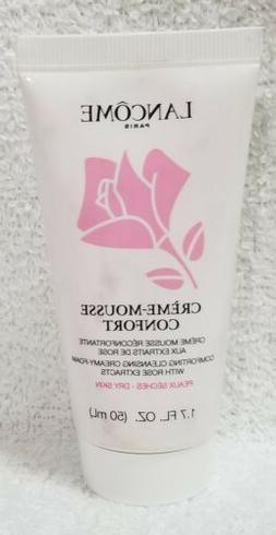 Lancome CREME-MOUSSE Comforting Cleansing Creamy-Foam Rose D