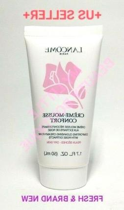 Lancome CREME MOUSSE CONFORT Cleansing Creamy Foam Rose DRY