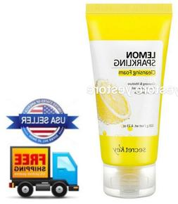 Lemon Sparkling Cleansing Foam 120g +NEW Fresh+
