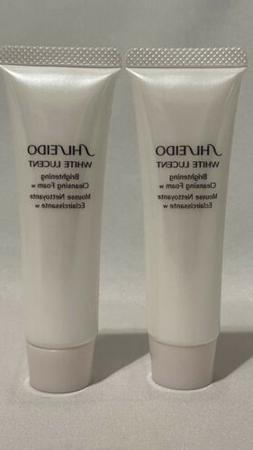 Lot Of 2 Shiseido White Lucent Brightening Cleansing Foam Tr
