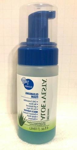 Lot of 4 Bottles - ConvaTec 325204 Aloe Vesta Cleansing Foam