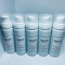 Lot of 5 Ouai Dry Shampoo Cleansing Foam Volume Mousse Trave