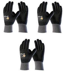 MaxiFlex 34-846 Gloves with Nitrile Micro-Foam Grip on Full