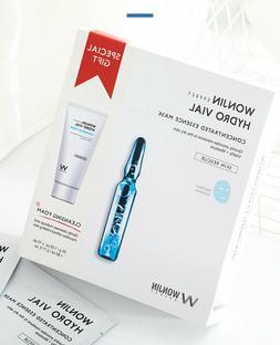 WONJIN EFFECT Medi Hydro Vial Mask 10 pieces + Cleansing Foa