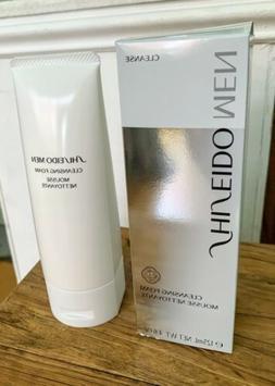 Shiseido Men Cleansing Foam 4.6oz / 125ml- New in Box Sealed