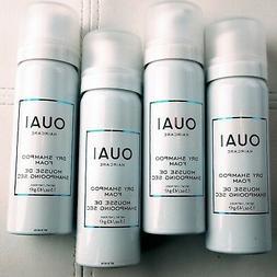 NEW! 4x OUAI DRY SHAMPOO FOAM Hair Cleanse Refresh Mousse 43