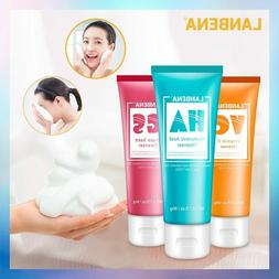 New LANBENA Facial Cleanser Face Wash Foam Face Cleansing Fa
