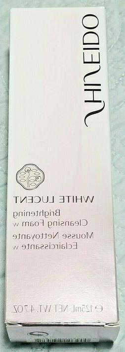 NEW Shiseido White Lucent Brightening Cleansing Foam 125ml 4