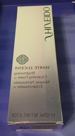 NEW Shiseido White Lucent Brightening Cleansing Foam 4.7oz/