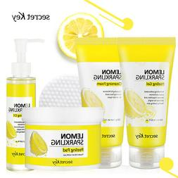 Lemon Sparkling Cleansing Foam / Oil / Pad / Peeling Gel