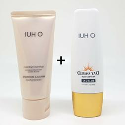OHUI DAY SHIELD Perfect Sun Black SPF 50+/PA++++ 50ML+Cleans