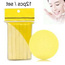 Pad 12PCS New Compressed Face Cleansing Wash Mat Foam Sponge