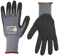 MicroFoam Nitrile Coated Work Gloves for General Purposes, L