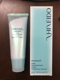 Shiseido Pureness Deep Cleansing Foam 3.6 oz/100 ml