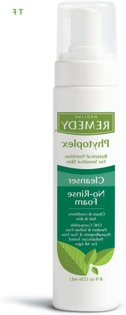 Medline Remedy Phytoplex Hydrating Cleansing Foam, 8 Fluid O