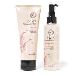 Rice Water Bright Cleansing Foam + Light Cleansing Oil 150m