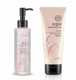 Rice Water Bright Foaming Cleanser & Light Cleansing Oil -