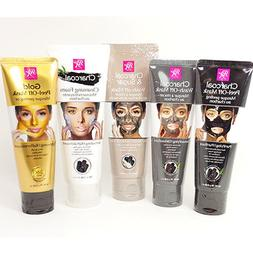 rk by black charcoal peel off mask