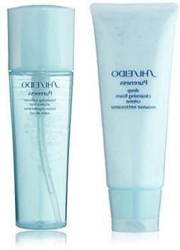 Shiseido Pureness Deep Cleansing Foam  and Balancing Softene