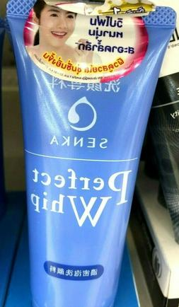 shiseido perfect white face wash cleanser whip