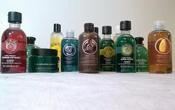 The Body Shop Shower Gel Foaming Bath Jelly Cream Body Scrub
