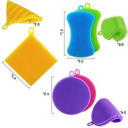 KatHome Silicone Cleaning Sponge Household Multi-Purpose Bru