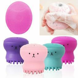 Silicone Foam Face Cleansing Brush Pore Cleanser Exfoliate S