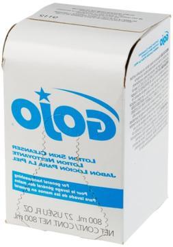 GOJO 800 Series Lotion Soap Skin Cleanser, Light Floral Scen
