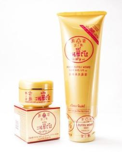 Fu ZHI BAO Snow Lotus Facial Cleansing Foam & Skin Whitening