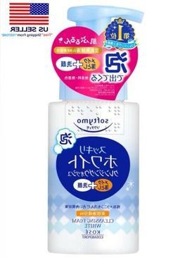 Kose Softymo Cleansing Foam Wash White Brighten Medicated Ja
