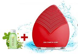 Swiss-Ultimate Labs Sonic Leaf 3-in-1 Facial Cleansing Brush