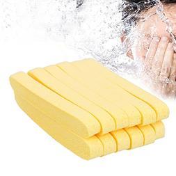 sponge compressed, compressed sponge,6 Pairs Yellow Compress
